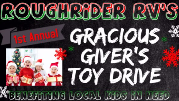 1st Annual Gracious Giver's Toy Drive & Fundraiser